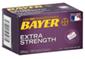 Bayer Extra Strength Asprin 500 mg Coated Caplets, 100 CT