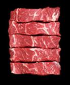 Beef Chuck TX Style Ribs Boneless - 2LB