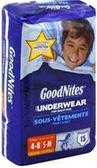 GoodNites 4-8 years -15ct