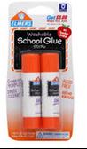 Elmer School Glue Stick -2ct