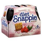 Snapple Diet Raspberry Iced Tea -6 pk