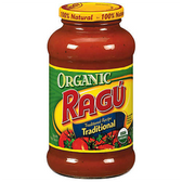 Ragu Organic Traditional Spaghetti Sauce - 24 oz