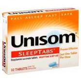Unisom Sleep Aid Tablets - 32 Count