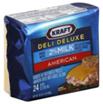 Kraft Deli Deluxe 2% Milk American Cheese Slices -24ct