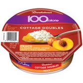 Breakstone 100 Calorie Peach Cottage Doubles - 3.9oz