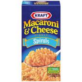 Kraft Macaroni & Cheese Spirals -5.5 oz