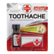 Red Cross Toothache Complete Medication Kit, EACH