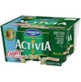 Dannion Activia Vanilla Light Yogurt -8pk