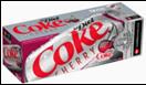 Diet Cherry Coca Cola Fridge -12pk