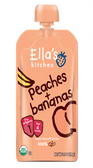 Ella's Kitchen - Peaches & Bananas -3.5oz