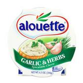 Alouette Garlic & Herb Spreadable Cheese -6.5 oz