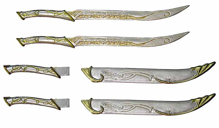 Lord of the Rings: Legolas - Fighting Knives - Toy Anxiety