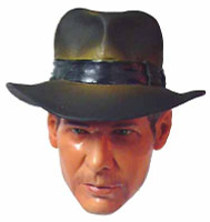 Indiana Jones: Indiana Jones - Head w/ Non-Removable Hat