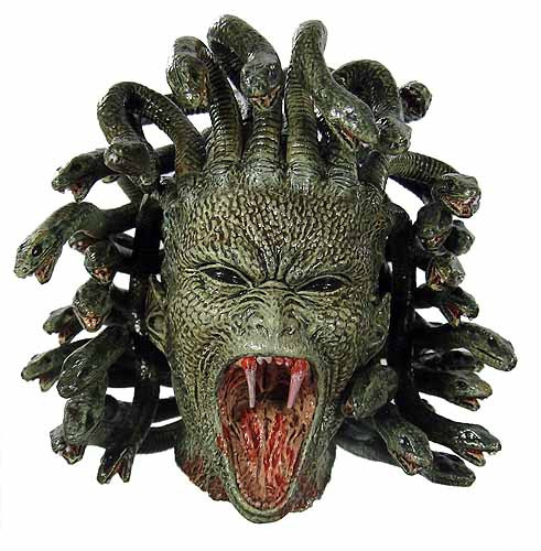 Clash of the Titans: Perseus - Medusa Head - Toy Anxiety