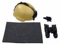 USAF CCT HALO - Helmet w/ Accessories