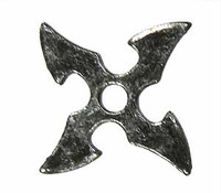 Ninja Accessory Set - Loose - Throwing Star A (Metal)