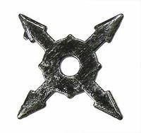 Ninja Accessory Set - Loose - Throwing Star C (Metal)