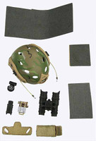 US Navy NSW Marksman - Helmet w/ Accessories