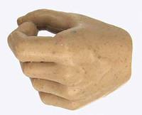 Gladiator Warriors: Flamma - Left Hand 1 - Closed Grip