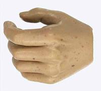 Gladiator Warriors: Flamma - Left Hand 2 - Open Loose Grip