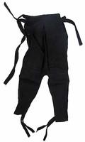 Black Ninja Uniform & Accessory Set - Black Pants