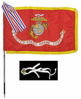 Dress Blue Marine - Flag w/ Harness
