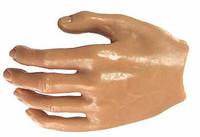 Alpha Toys: Caucasian Nude - Left Open Hand