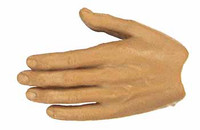 X-Series Nude: Caucasian Tan XT1 - Left Flat Hand