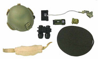 FBI HRT - Helmet w/ Goggles and Accessories
