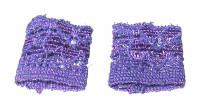 Lingerie: Loose - Purple Wrist Bands