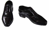 VC: Men's Suits - Black Dress Shoes (No Ball Joints)