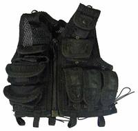FBI Biochemical Weapons Expert - Black Tactical Vest
