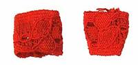 Flirty Girl: Lingerie - Red Wrist Bands