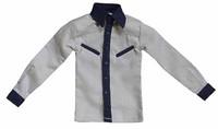 Chicago Gangster Robert - Grey Long Sleeve Shirt