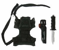 VH: Navy Seal HALO UDT Jumper: Jump Suit Version - Knife w/ Sheath & Leg Panel