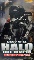 VH: Navy Seal HALO UDT Jumper: Dry Suit Version - Boxed Accessory Set (No Figure)