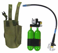 VH: US Army Special Forces - Oxygen Tank w/ Hose & Pouch