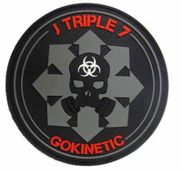 ZERT Jameson Youngblood Deathridge - 1:1 Replica J Triple 7 GOKINETIC Velcro Patch