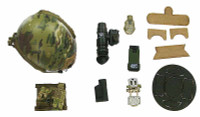French Special Force - Helmet w/ Night Vision and Accessories