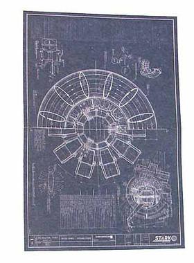 Iron man 2 tony stark arc reactor creation arc reactor blueprints image 1 malvernweather Choice Image