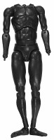 COO: Loose - Black Plastic Nude Body w/ Hand Joints & Feet