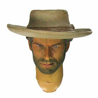 The Good Cowboy - Head w/ Neck Joint