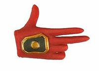 Shi: Battle Armor - Right 3 Finger Posed Hand