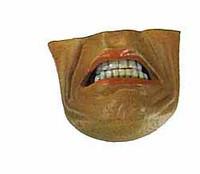 DC Comics: Batman Gotham Knight - Face Insert (Gritting Teeth)