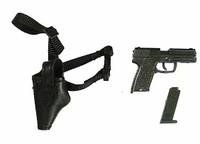 Z-Girl - Pistol w/ Left Hand Holster