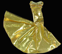 Shimmering Evening Dresses - Gold Dress