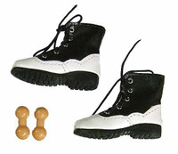 Evolution Female Clothing Set - Black Shoes w/ Ball Joints