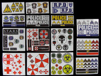 Evolution Female Clothing Set - Stickers