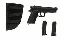 Bank Robbers: Criminal Crew 2 - Pistol w/ Velcro Holster