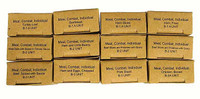 Vietnam C Rations - Set of Empty Meal Boxes (12)